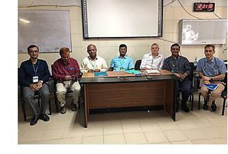 Examining in Bangladesh