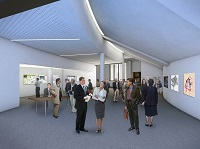 Proposed conference centre foyer
