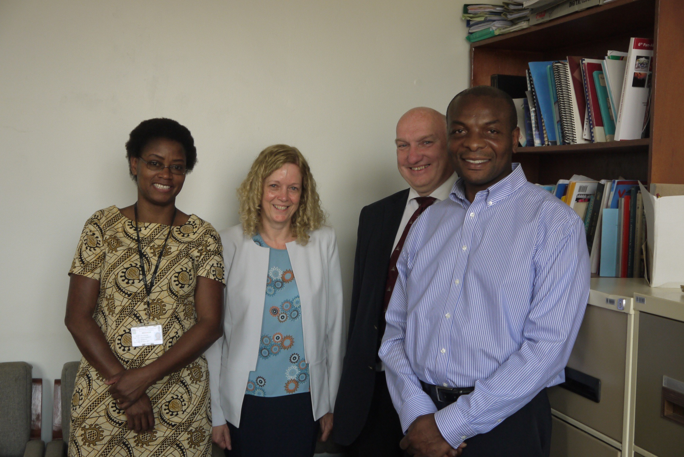 IDG Members with Dr Jane Mallewa and Professor Victor Mwapasa