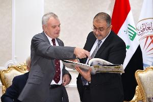 Prof Bell in Iraq