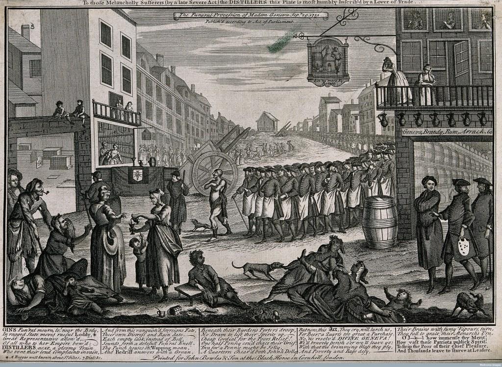 Madam Geneva Funeral Procession, 1751