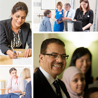 RCPE Manchester collage