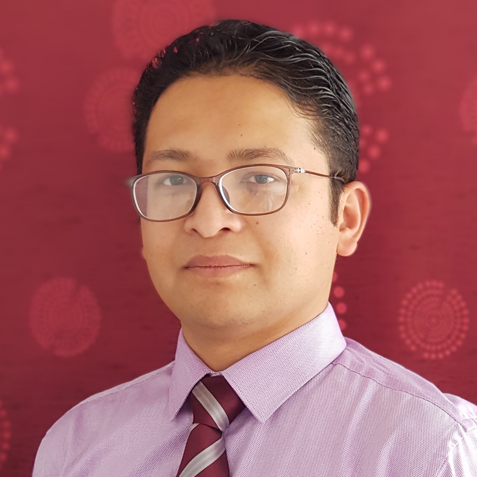 Photograph of Dr Sudeep Shrestha